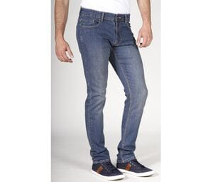 RICA LEWIS RL801 - Mens Slim Fit Stretch Stone Jeans
