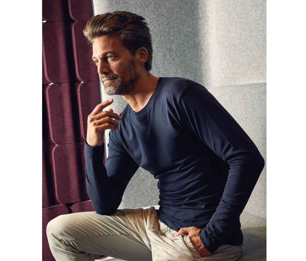 Men's-long-sleeved-t-shirt-Wordans