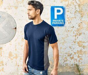 PROMODORO PM3580 - T-shirt unisexe contrasté