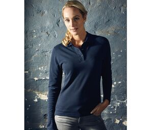 Promodoro PM4605 - Womens long-sleeved polo shirt 220