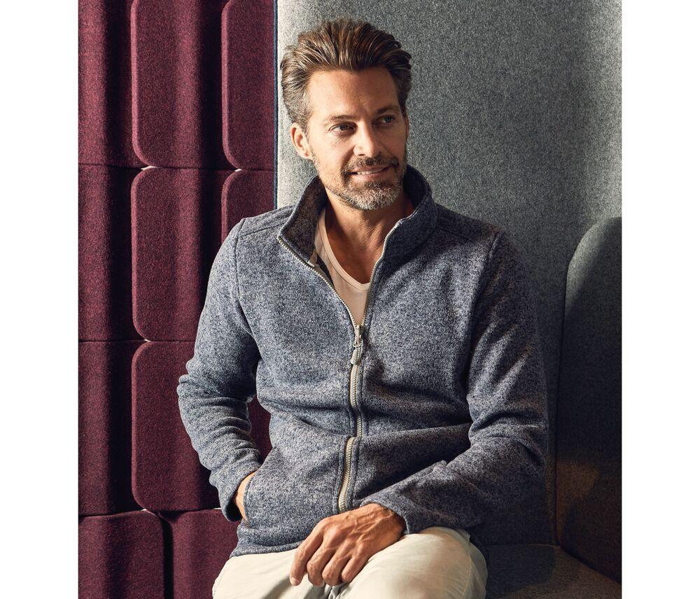 Men's-knitted-fleece-jacket-Wordans