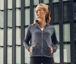 PROMODORO PM7725 - Veste polaire tricotée femme