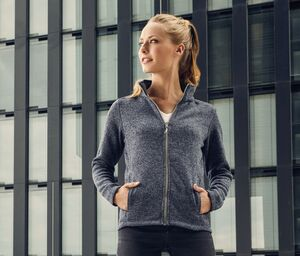 Promodoro PM7725 - Womens knitted fleece jacket