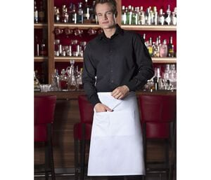 Karlowsky KYBSS3 - Basic bistro apron with pocket