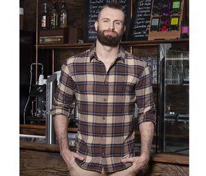 Karlowsky KYBM9 - Urban-Trend mens checked shirt