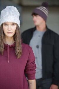 K-up KP557 - Classic knitted beanie in recycled yarn