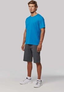 PROACT PA4012 - Mens recycled round neck sports T-shirt