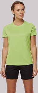 PROACT PA4013 - Ladies recycled round neck sports T-shirt