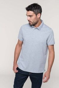 WK. Designed To Work WK225 - Mens short sleeve stud polo shirt