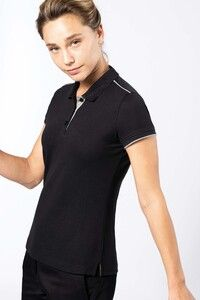 WK. Designed To Work WK271 - Ladies short-sleeved contrasting DayToDay polo shirt