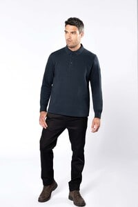 WK. Designed To Work WK4000 - Polo neck sweatshirt
