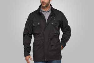 MACSEIS MS16001 - Jacket Light Biker Black
