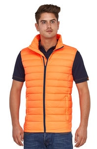 MACSEIS MS32005 - Bodywarmer Down Tech Sky for him Orange