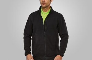 MACSEIS MS33001 - Soft Fleece Cardigan for him Black