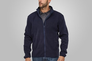 MACSEIS MS33003 - Soft Fleece Cardigan for him Blue Navy