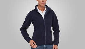 MACSEIS MS33004 - Soft Fleece Cardigan for her Blue Navy