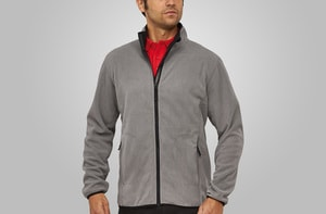 MACSEIS MS33005 - Soft Fleece Cardigan for him Stone Grey