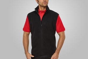 MACSEIS MS33011 - Soft Fleece Vest for him Black