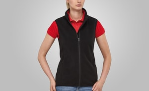 MACSEIS MS33012 - Soft Fleece Vest for her Black