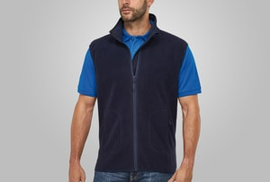 MACSEIS MS33013 - Soft Fleece Vest for him Blue Navy