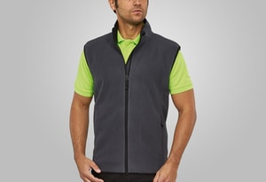 MACSEIS MS33015 - Soft Fleece Vest for him Grey