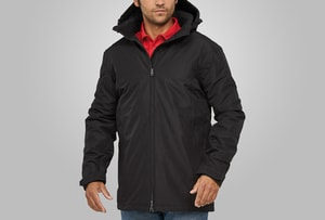 MACSEIS MS8001 - Jacket High Tech Office Parka Black
