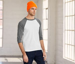 Bella+Canvas BE3200 - 3/4 sleeve baseball t-shirt