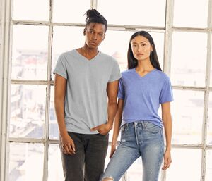 Bella+Canvas BE3415 - Unisex tri-blend T-shirt met V-hals