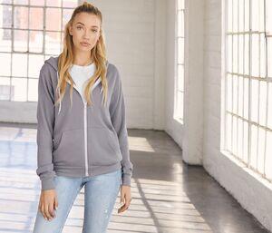 Bella+Canvas BE3739 - Unisex zip hoodie