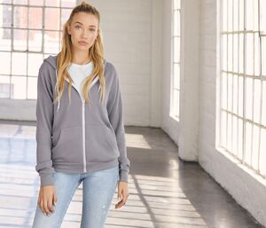 Bella+Canvas BE3739 - Unisex zip hoodie