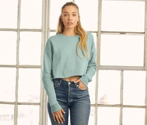 Bella+Canvas BE7503 - Kurzes Rundhals-Sweatshirt