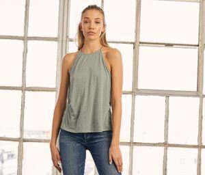Bella + Canvas BE8809 - Camiseta sin mangas para mujer con tirantes finos
