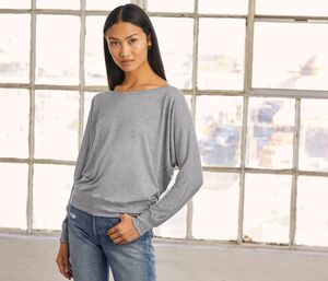Bella+Canvas BE8850 - Womens wide neck t-shirt