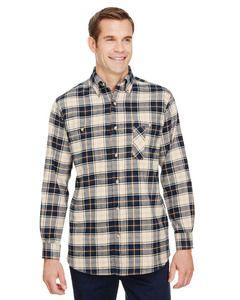 Backpacker BP7001 - Mens Yarn-Dyed Flannel Shirt