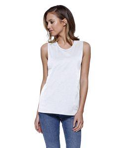 StarTee ST1150 - Ladies Cotton Muscle T-Shirt