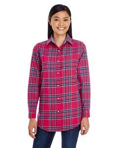 Backpacker BP7030 - Ladies Yarn-Dyed Flannel Shirt