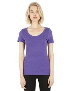 Simplex Apparel SI3030 - Ladies 4.6 oz. Tri-Blend Scoop Neck T-Shirt
