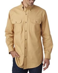 Backpacker BP7005 - Mens Solid Flannel Shirt