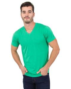 Simplex Apparel SI3320 - Mens 4.6 oz. Tri-Blend V-Neck T-Shirt