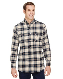 Backpacker BP7001T - Mens Tall Yarn-Dyed Flannel Shirt