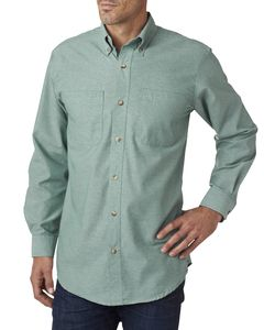 Backpacker BP7004T - Mens Tall Yarn-Dyed Chambray Woven