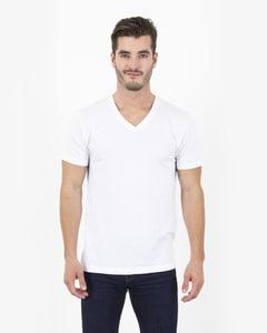 Simplex Apparel SI4320 - Mens 4.6 oz. Tri-Blend V-Neck T-Shirt