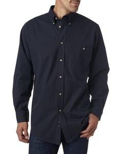 Backpacker BP7010T - Mens Tall Nailhead Long-Sleeve Woven Shirt