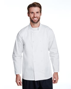 Artisan Collection by Reprime RP665 - Unisex Studded Front Long-Sleeve Chefs Coat
