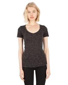 Simplex Apparel SI5020 - Ladies 4.3 oz. Caviar Deep V-Neck T-Shirt