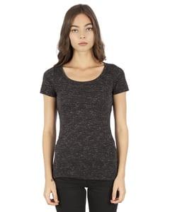 Simplex Apparel SI5030 - Ladies 4.3 oz. Caviar Scoop Neck T-Shirt