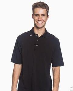 Ashworth 2013 - Mens EZ-Tech Jersey Textured Stripe Polo