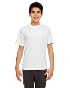 UltraClub 8420Y - Youth Cool & Dry Sport Performance Interlock T-Shirt