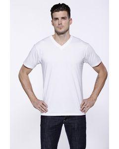 StarTee ST2412 - Mens CVC V-Neck T-Shirt