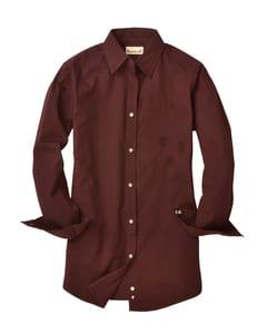 Backpacker BP7035 - Ladies Nailshead Long-Sleeve Woven Shirt